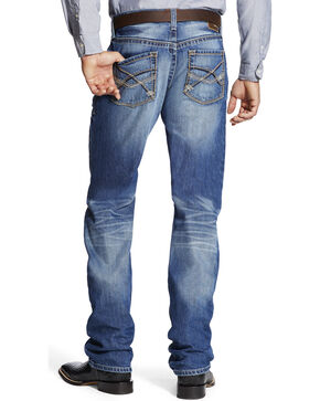 Ariat Men's Medium Wash Boot Cut Jeans, Indigo, hi-res