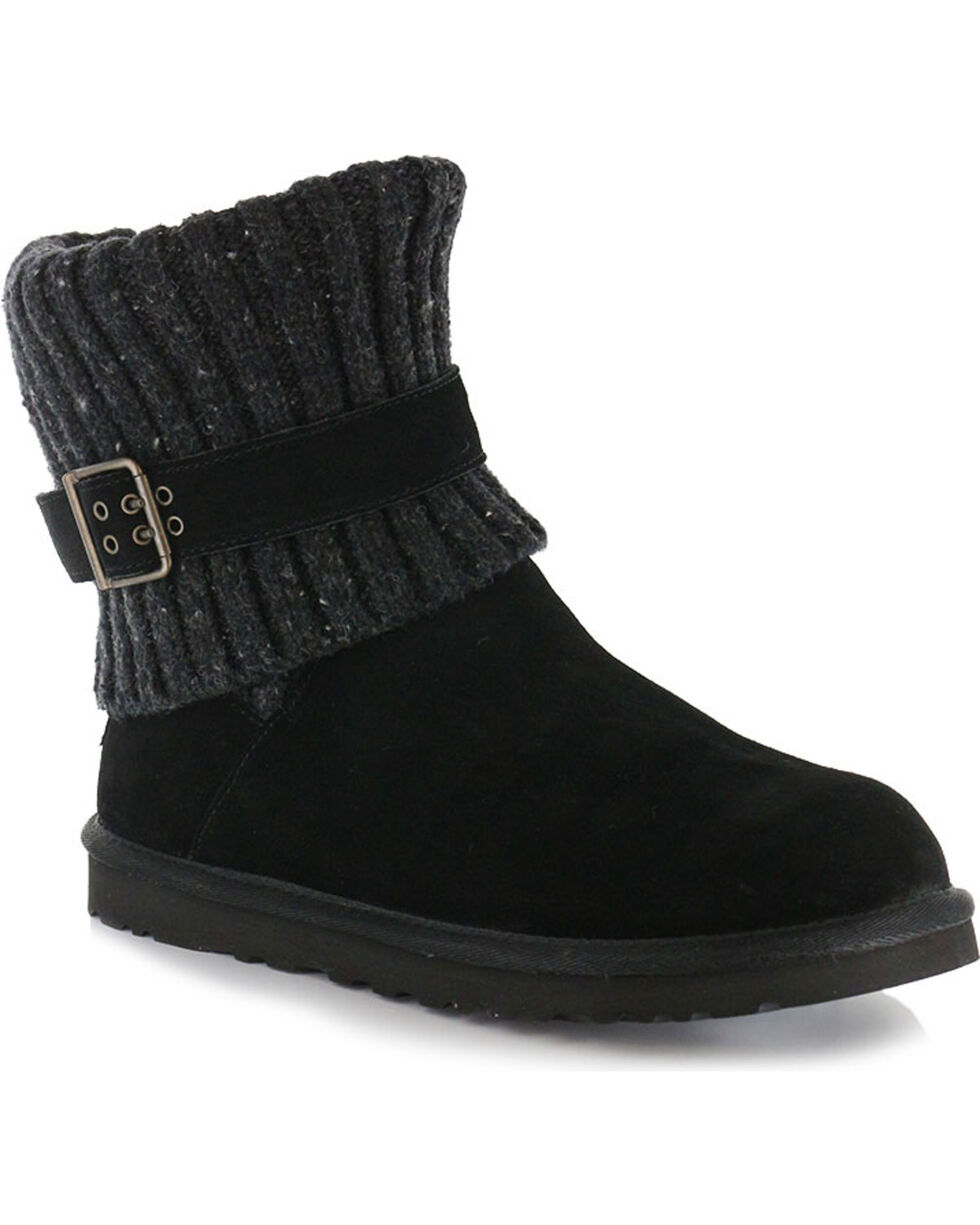 UGG® Women's Cambrige Classic Knit Boots, Black, hi-res