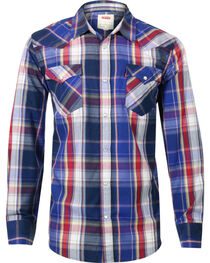 Levi's Men's Long Sleeve Plaid Shirt, , hi-res