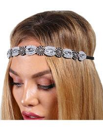 Shyanne® Women's Pearly Rhinestones Headband, , hi-res