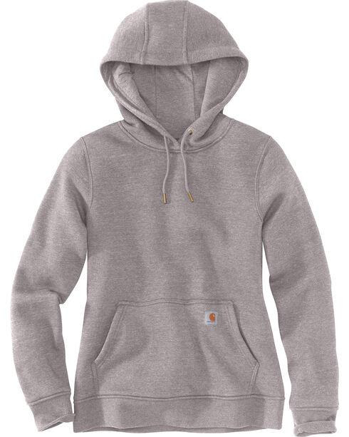 Carhartt Women's Clarksburg Pullover Sweatshirt , Dark Grey, hi-res