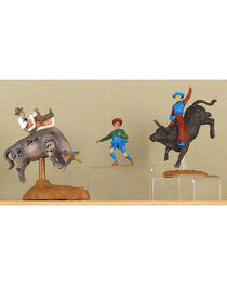 M&F Big Time Rodeo Bull Rider Rodeo Toy Set, , hi-res