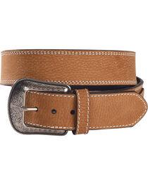 G Bar D Men's Brown Leather Belt, , hi-res