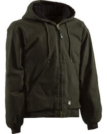 Berne Men's Original Washed Hooded Jacket , , hi-res