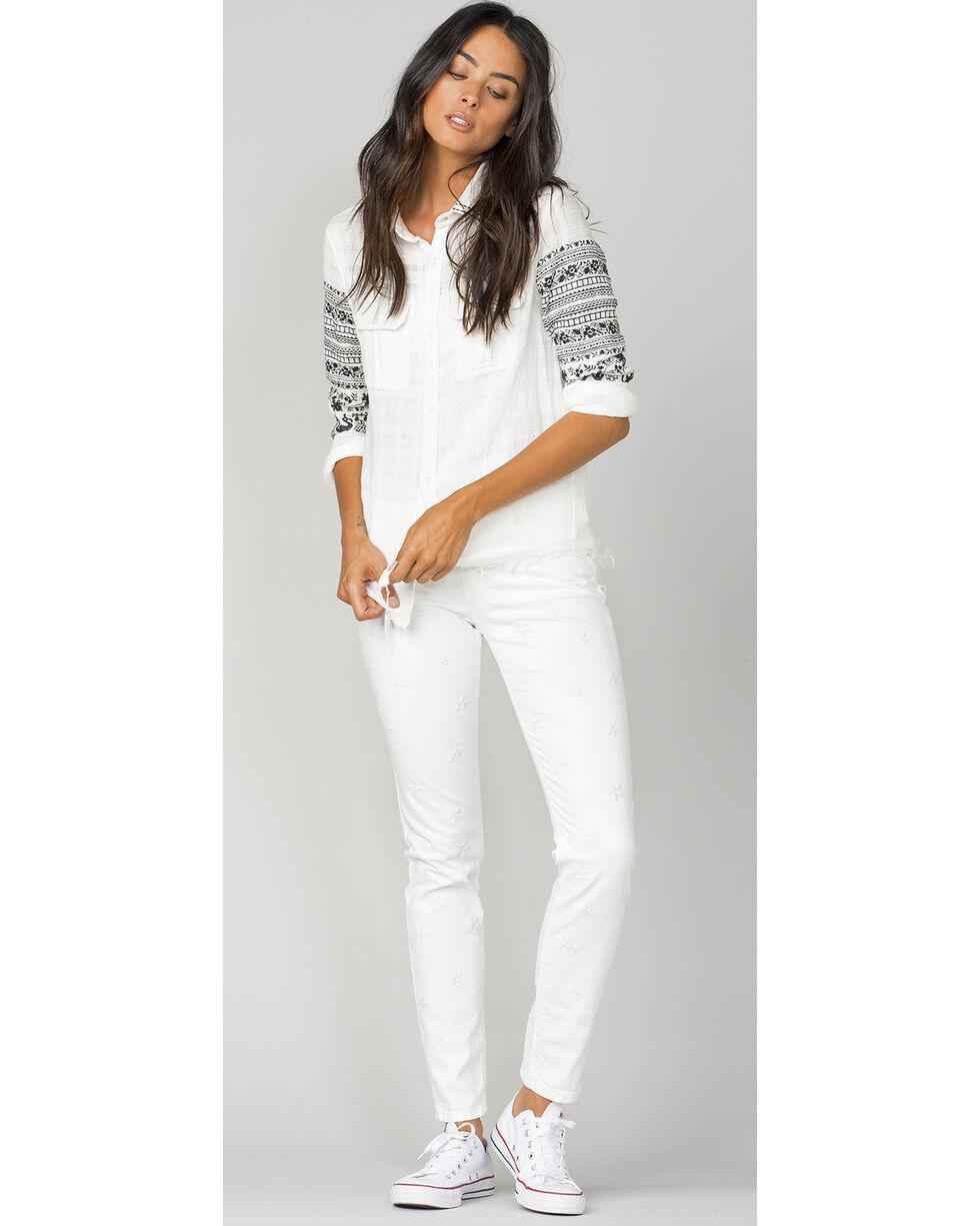 MM Vintage Women's Isabel Skinny Jeans, White, hi-res