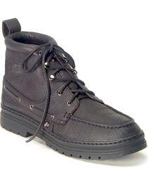 Justin Men's Casual Chukka Shoes, Black, hi-res