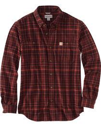 Carhartt Men's Trumbull Plaid Shirt , , hi-res