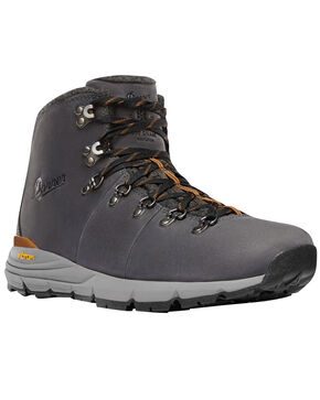 Danner Men's Charcoal Mountain 600 Boots - Round Toe, Charcoal, hi-res