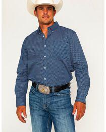 Cody James Men's Mountain Sky Long Sleeve Button Down Shirt - Tall, , hi-res