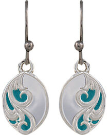 Montana Silversmiths A Spring's Breeze Earrings, , hi-res