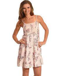 J JUVA Women's Floral Print Sleeveless Dress, , hi-res