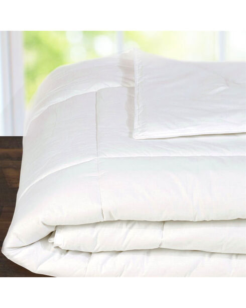 HiEnd Accent White Down Duvet Insert, Queen , White, hi-res