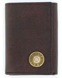 Nocona Men's 12 Gauge Tri-Fold Wallet, , hi-res