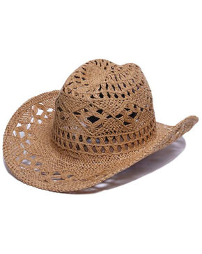 ále by Alessandra Women's Caballera Cowgirl Hat , Tan, hi-res