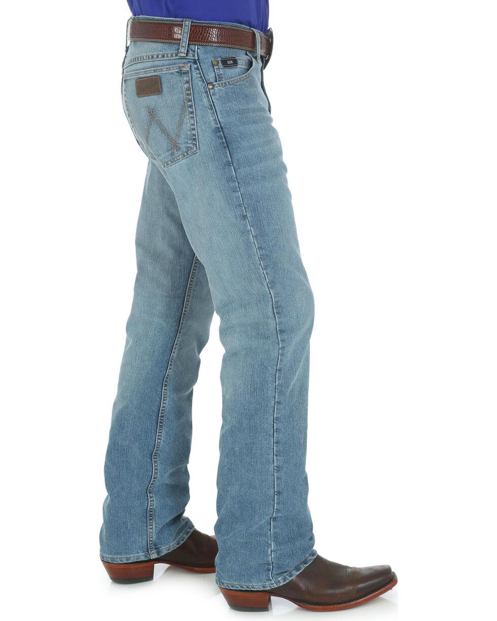 Wrangler Men's 20X Cool Vantage Competition Slim Jeans - Ocean Blue, Denim, hi-res