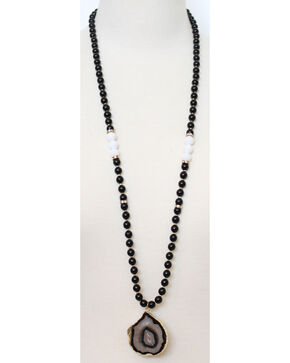 Everlasting Joy Women's Rockies Necklace, Black, hi-res