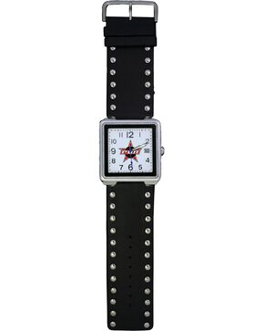 Montana Silversmiths PBR Studded Leather Watch, Multi, hi-res