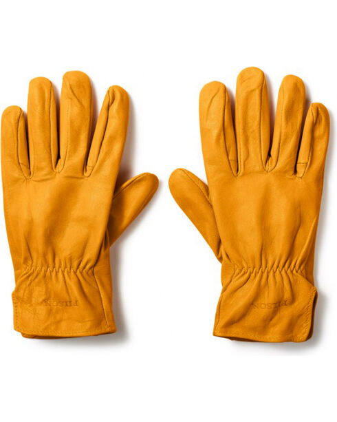 Filson Men's Original Goatskin Gloves, Tan, hi-res