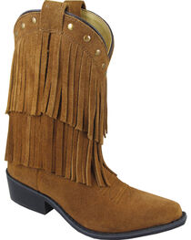 Smoky Mountain Girls' Wisteria Western Boots - Medium Toe, , hi-res