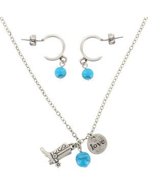 Shyanne® Women's 100% Cowgirl Jewelry, Silver, hi-res