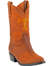 Gameday Boots Girls' University of Tennessee Western Boots - Medium Toe, , hi-res