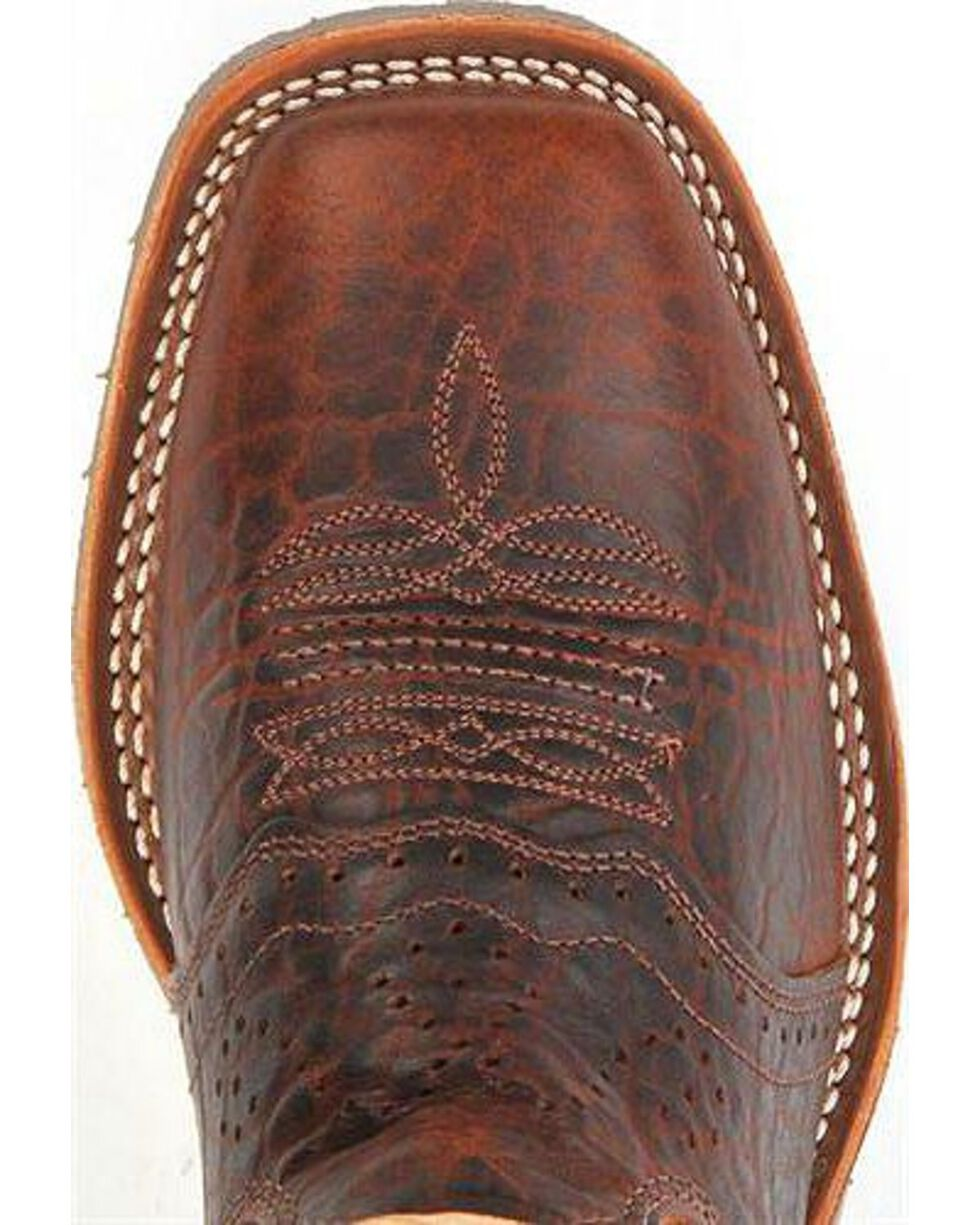 Double-H Men's Western Boots, Bison, hi-res