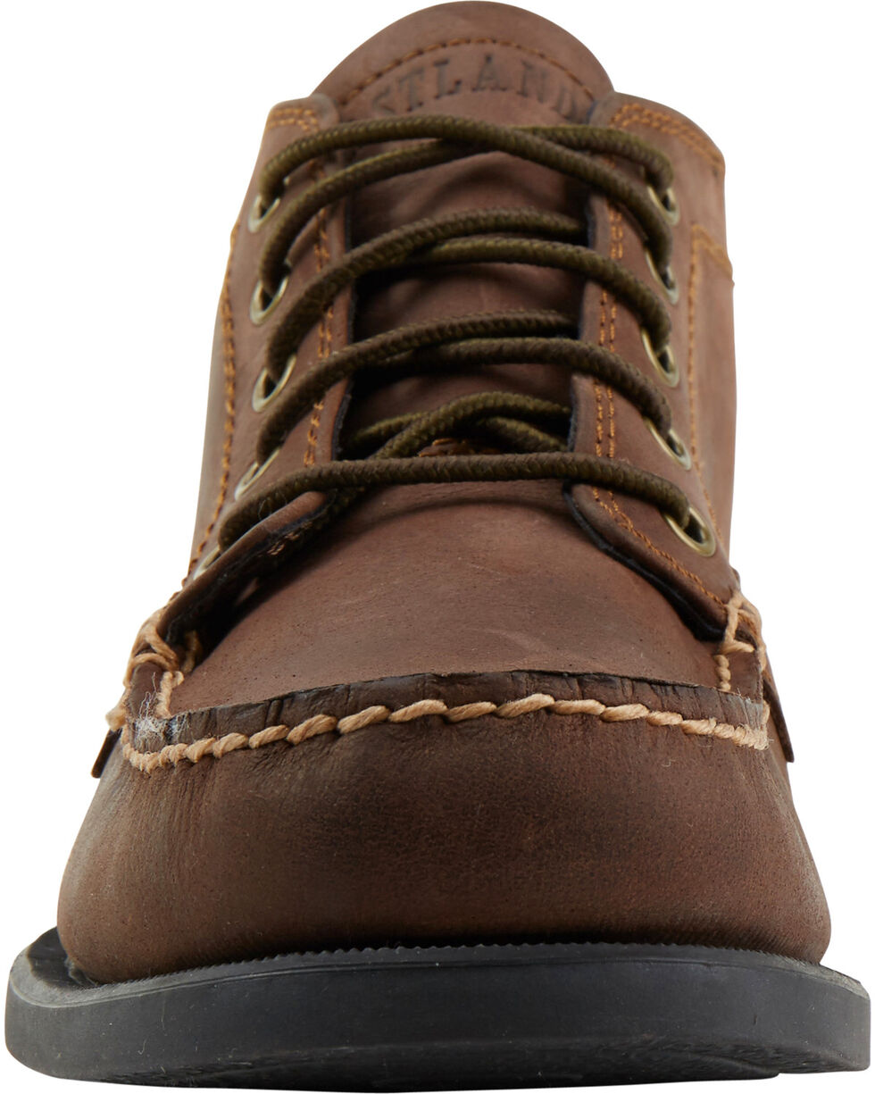 Eastland Men's Bomber Brown Seneca Camp Moc Chukka Boot , Brown, hi-res