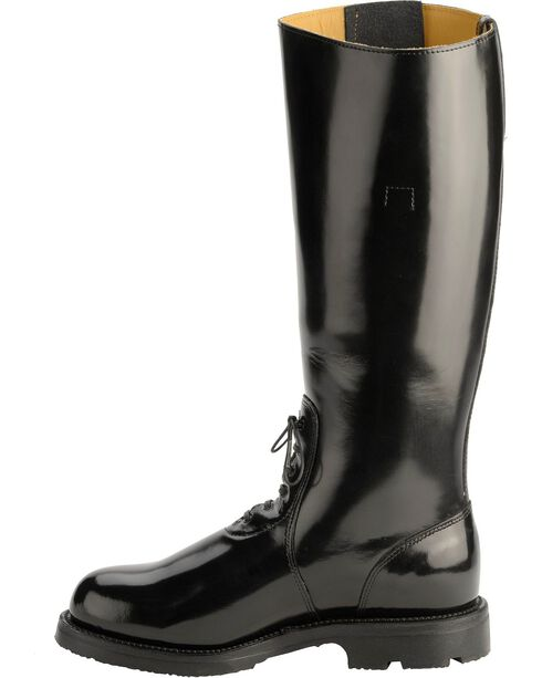 "Chippewa Men's Trooper 17"" Motorcycle Boots, Black, hi-res"