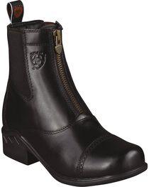 Ariat Women's Heritage Rt Zip Paddock Boots, , hi-res