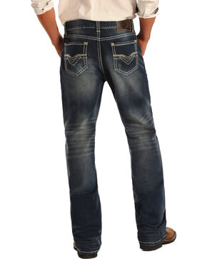 Rock & Roll Cowboy Men's Double Barrel Jeans, Indigo, hi-res