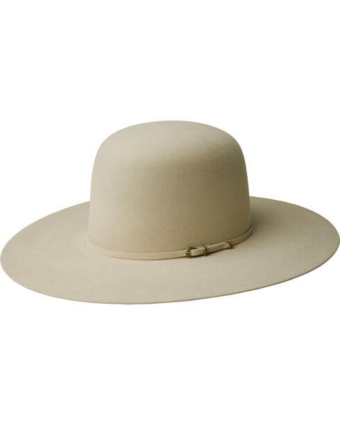 Bailey Men's Gage 10X Fur Felt Open Crown Cowboy Hat, Buckskin, hi-res