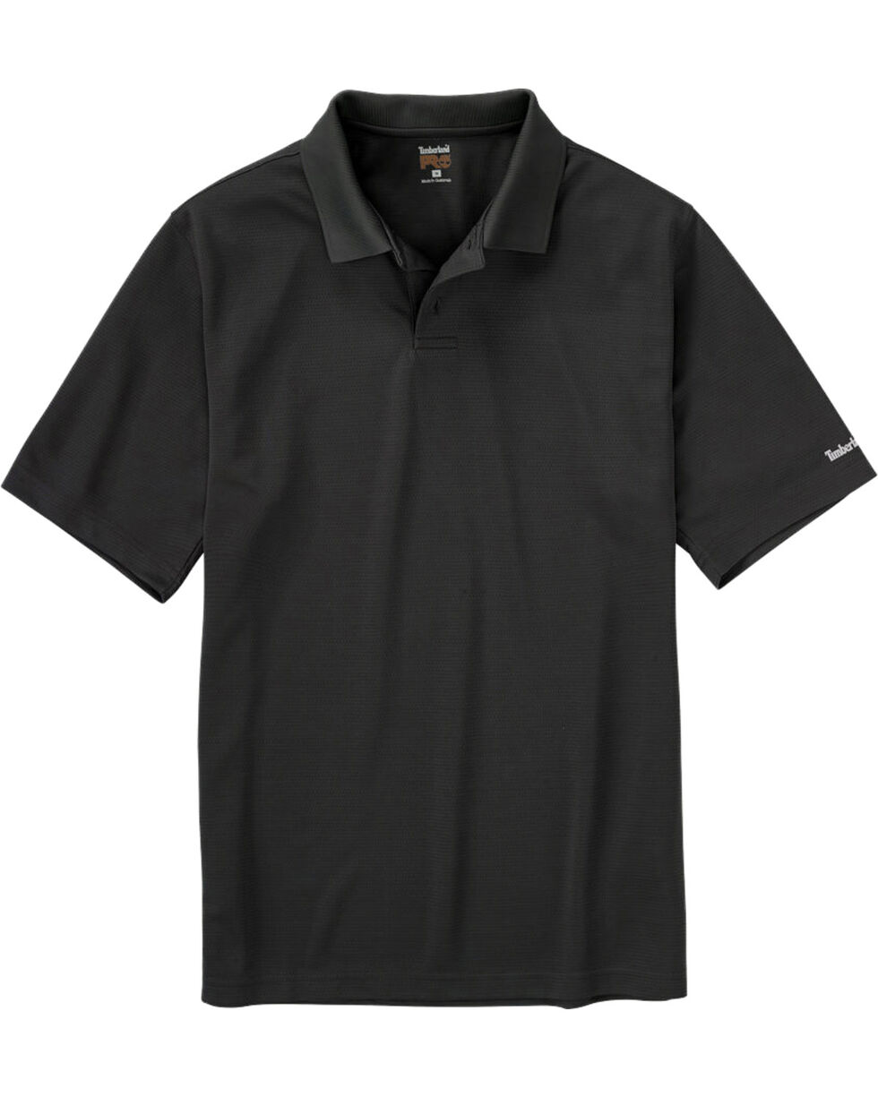 Timberland PRO Men's Meshin' Around Polo Shirt, Black, hi-res