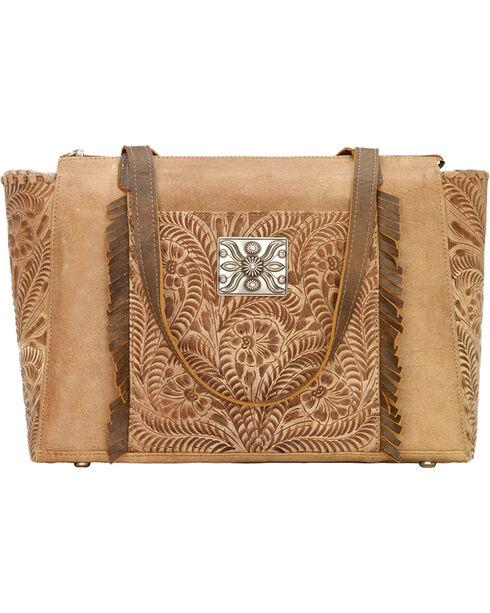American West Women's Annie's Secret Zip Top Concealed Carry Tote, , hi-res