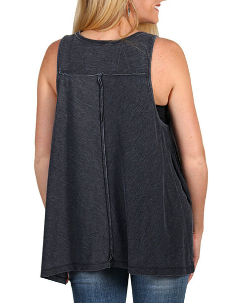 I.O.C. Women's Country Line Festival Tank Top, Charcoal, hi-res