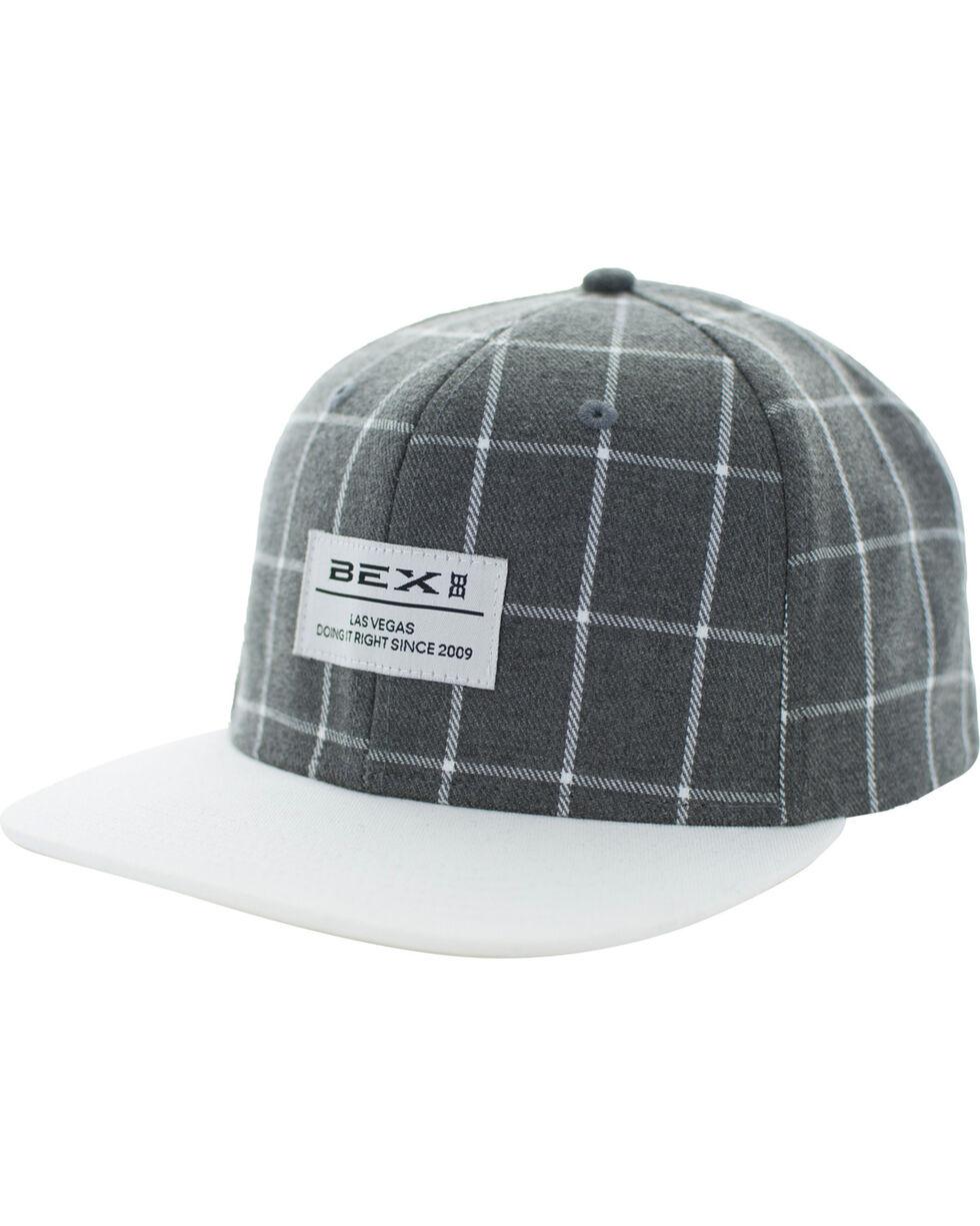 BEX Men's Grey Drais Baseball Cap , Grey, hi-res