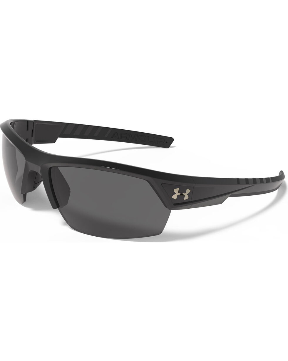 Under Armour Black Igniter 2.0 Sunglasses , Black, hi-res