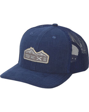 Bex Men's Navy Bryce Mountain Patch Baseball Cap , Navy, hi-res