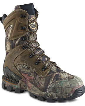 Red Wing Irish Setter Men's Mossy Oak Deer Tracker Insulated Boots , Camouflage, hi-res