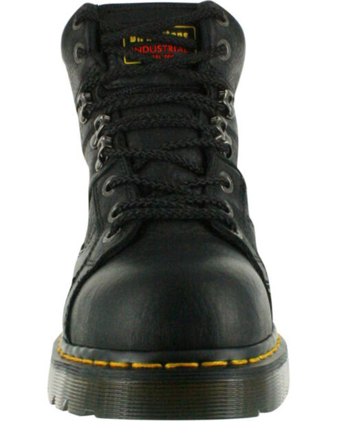 Dr. Marten's Men's Ironbridge Safety Toe Boots, Black, hi-res