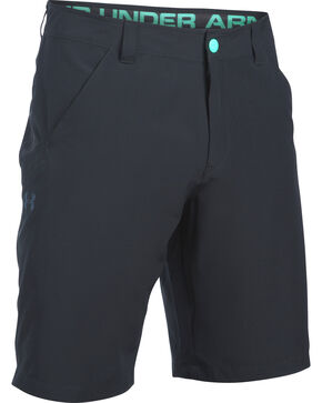 Under Armour Men's Black Surf & Turf Amphibious Board Shorts, Black, hi-res