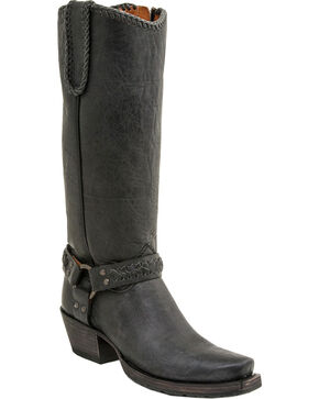 Lucchese Women's Tammy Western Boots, Black, hi-res