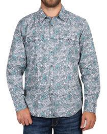 Cody James Men's Rodeo Paisley Long Sleeve Shirt - Tall , , hi-res