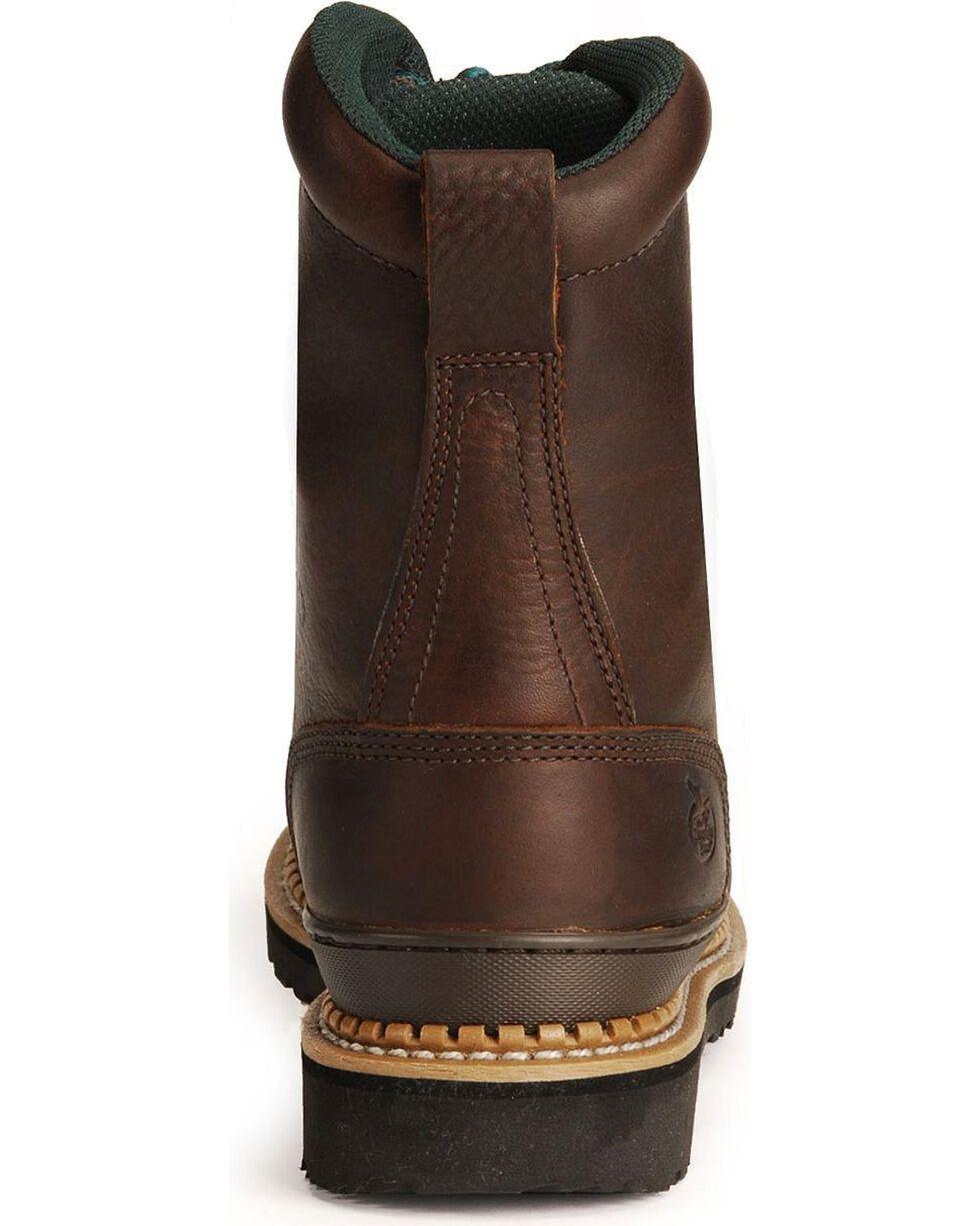Georgia Men's Georgia Giant Safety Toe Work Boots, Brown, hi-res
