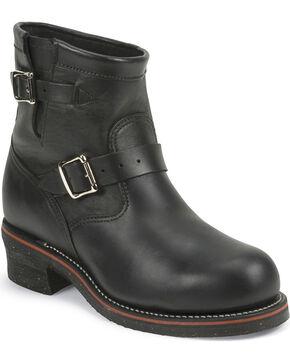 "Chippewa Men's Odessa  7"" Engineer Boots - Steel Toe, Black, hi-res"