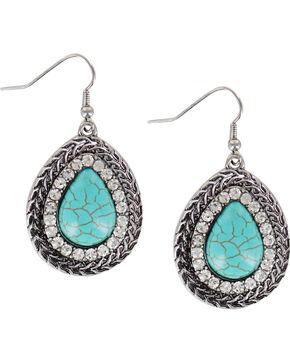 Shyanne® Women's Turquoise Teardrop Earrings, Turquoise, hi-res