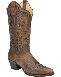 Corral Women's Goat Snip Toe Western Boots, , hi-res