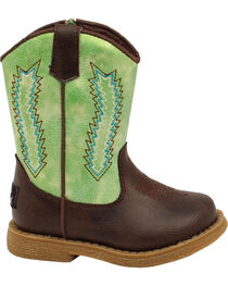Double Barrel Toddler Boys' Lil' Wyatt Boots - Round Toe, , hi-res