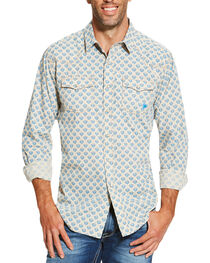 Ariat Men's Sage Chad Print Long Sleeve Shirt, , hi-res