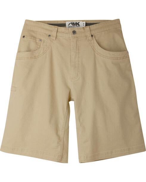 "Mountain Khakis Men's Classic Fit Camber 105 Shorts - 9"" Inseam, Beige, hi-res"