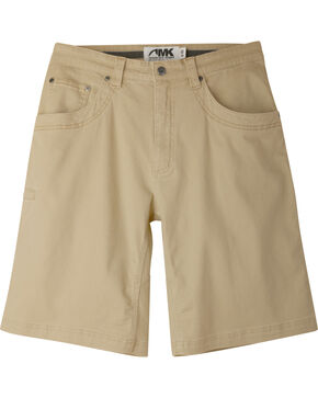 "Mountain Khakis Men's Classic Fit Camber 105 Shorts - 11"" Inseam, Beige, hi-res"
